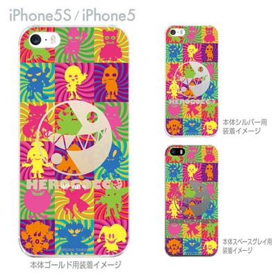 【iPhone5S】【iPhone5】【HEROGOCCO】【キャラクター】【ヒーロー】【Clear Arts】【iPhone5ケース】【カバー】【スマホケース】【クリアケース】【おしゃれ】【デザイン】 29-ip5s-nt0061の画像