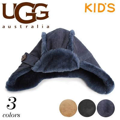 アグ オーストラリア ベイリー アビエーター シープスキン UGG U1553 帽子 キッズ ジュニアの画像