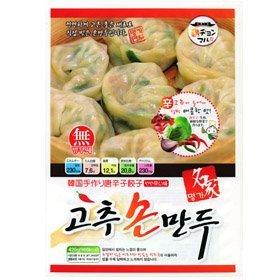 【韓国食品・韓国食材・韓国冷凍品】健康の源!■名家手作り唐辛子餃子(420g)■の画像