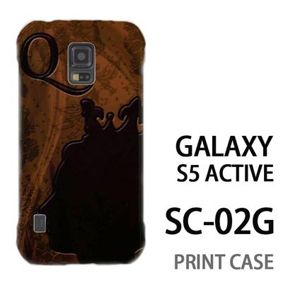 GALAXY S5 Active SC-02G 用『No1 Q 女王のレリーフ』特殊印刷ケース【 galaxy s5 active SC-02G sc02g SC02G galaxys5 ギャラクシー ギャラクシーs5 アクティブ docomo ケース プリント カバー スマホケース スマホカバー】の画像