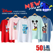 [HOWRU] ★ Disney Short Sleeve T-shirts ★ 50 Designs