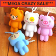 [One Space]  GROUP BUY SALES !! Lovely Cute Bear key pouch / key organizer / fashion accessories / key chain / group buy / times sales