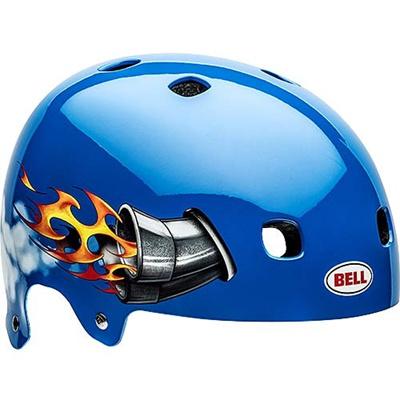 ベル(BELL) ヘルメット SEGMENT / セグメント Jr KIDS&YOUTH ブルーニトロ 【自転車 サイクル キッズ 安全 子供】の画像