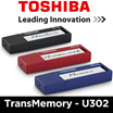 Toshiba TransMemory U302 16GB USB 3.0 Thumbdrive / Flash Drive / Flash Memory / Black Color / Local Set with 5 Years Warranty