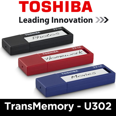 Toshiba TransMemory U302 16GB USB 3.0 Thumbdrive / Flash Drive / Flash Memory / Black Color / Local Set with 5 Years Warranty Deals for only S$39.9 instead of S$39.9