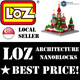 [LOZ][CHEAPEST!]★100% Authentic★ ♥FREE SHIPPING♥ LOZ NANOBLOCKS ARCHITECTURAL BUILDING BLOCKS!! ♛LOCAL SG SELLER♛ WORLD ARCHITECTURE COLLECTION. xiaomi iphone apple GSS Singapore