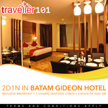 Batam Gideon Hotel Packages with Ferry Ticket
