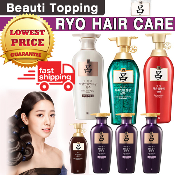 1-day Big Sale?6th Restocked!?Qoo10 Lowest Price?[RYO] Korea No.1 Oriental Herb Hair Care Shampoo