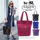 Domestic shipping / free shipping] [COACH / Coach] COACH Coach novelty tote bag Eco Bag Tote Bag