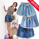 Summer 2015 Korean elastic waist lace shorts / Ladies jeans / denim pants female / code culottes / Slacks/Ladies denim pants LL92