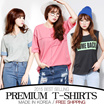 [grey u]★All Flat Price★[FREE SHIPPING]Short Sleeve T-shirts♥Made in KOREA~!]★2016 Best Selling Premium T-shirts in Korea♥free shipping/Casual Loose fit T-shirts/Basic Design T-shirts/Casual T-shi