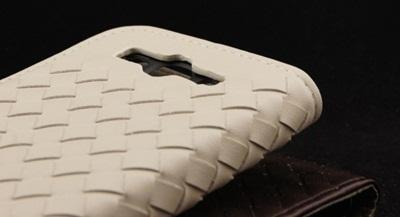 GALAXY S3 I9300/DOCOMO SIII SC-06D [全6色] 手帳型 編込み ケース/Woven Braided PU Leather Daily Caseの画像