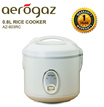 Aerogaz 0.8L Rice Cooker (AZ-803RC) | 1.0L Rice Cooker (AZ 1000RC) | 1.8L Rice Cooker with Steamer(AZ-1800RC)