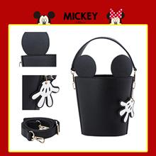 Gracegift-NEW Disney Mickey Cylinder Bag/Women/Ladies/Girls Bags/Taiwan Fashion