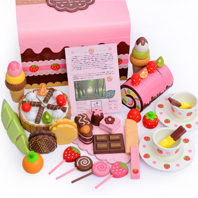 Qoo10 mother garden strawberry chocolate party mix set for Qoo10 kitchen set