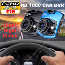 【SG No.1】GT300 Best Quality 1080P Full HD Car Dvr Camera Video Recorder 170 Degree Wide Angle