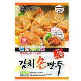 【韓国食品・韓国食材・韓国冷凍品】健康の源!■名家手作りキムチ餃子(420g)■の画像