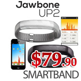 [ HOT DEAL ] Jawbone UP2 Smart Watch Band Digital Tracker Activity Fitness Tracker Local Warranty