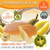 (VP Ducafe) D24 Durian Light Cheese Cake 330G - 3 Flavours! ORIGINAL / D24 DURIAN / GREEN TEA