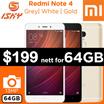 [XIAOMI] Redmi Note 4 Smartphone | 3GB RAM + 64GB ROM / Export Set with Warranty Option