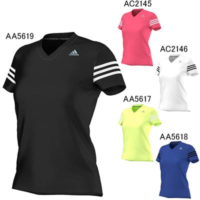 アディダス (adidas) レディース W RSP CAP半袖Tシャツ KAV76 [分類:ランニング Tシャツ (レディース)]の画像
