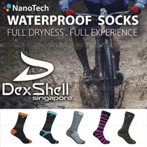 Waterproof Breathable Socks // DexShell Biking Lite/Sport Socks