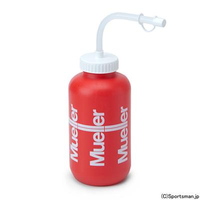 ミューラー (Mueller) ストロー付きスポーツボトル(レッド) 020625 [分類:スポーツドリンク ボトル・ジョグ・シェイカー]の画像