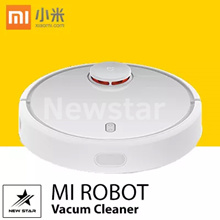 Xiaomi Mi Robot Vacuum Cleaner ★ 1800 Pa ★ 5200 mAh Li-ion battery ★ 2.5 hours of charging ★ Home Cleaning ★ [ Ready Stocks! ] Use your Coupons Here! ★ FREE 1 MONTHS WARRANTY