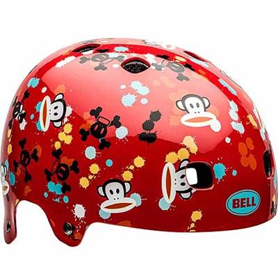 ベル(BELL) ヘルメット SEGMENT / セグメント Jr KIDS&YOUTH レッドポールフランクペイントボール 【自転車 サイクル キッズ 安全 子供】の画像