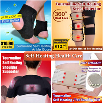 Premium Unisex Health-Care Tourmaline Self Heating Series / Waist Belt / Shoulder Support / Knee Protector / Ankle Guard