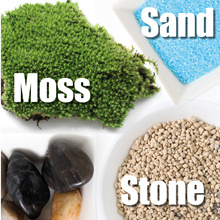 ◤BASICS◥ Pebble ★ Gravels ★ Spar ★ Sand ★ Moss ★ Stone ★ Grass Patch ★ Terrarium ♡ Garden ♡ Plant