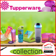 Promo April Bahagia -Tupperware Collection - Tupperware X-Treme Bottle/Tweeny Boy n girl /Condimate Set Ungu/Tupperware Mini Freezermate with Dial (2 pcs) - Edisi Biru n hijau