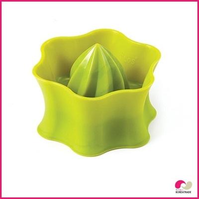 【日用品】 flos siliconeシリコン果実搾り器(スクイーザー)fruit squeezer Green HKS-E009の画像
