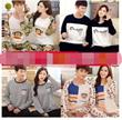 Long-sleeved striped pajamas woman spring summer mens Korean couple pajamas cartoon modal tracksuit suit