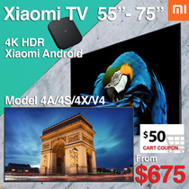 [xiaomi]Fast Delivery Local Dealer❤Xiaomi Smart Android 4K TV 55 65