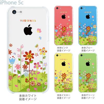 【iPhone5c】【iPhone5cケース】【iPhone5cカバー】【ケース】【カバー】【スマホケース】【クリアケース】【フラワー】【vuodenaika】 21-ip5c-ne0036caの画像