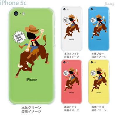 【iPhone5c】【iPhone5c ケース】【iPhone5c カバー】【ケース】【カバー】【スマホケース】【クリアケース】【クリアーアーツ】【Clear Arts】【ロデオ・カウボーイ】 10-ip5c-ca103の画像