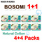 [Bosomi] [1+1]480pcs~ Natural Cotton Baby Diapers * 4PACKS!!★MADE IN KOREA★Baby★Pants/Tape Type★Diaper/Soft