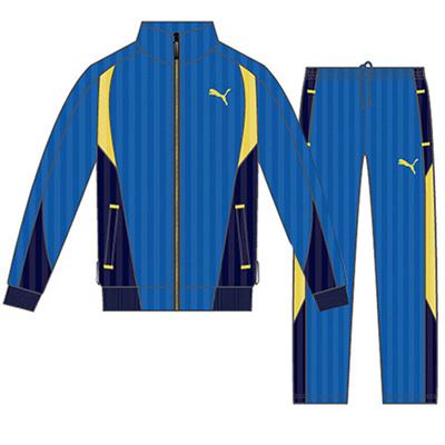 プーマ (PUMA) ジュニア FD トレーニングジャケット&パンツ 上下セット(ストロングブルー) 833453-04-833454-04 [分類:ジャージ 上下セット (ジュニア)] 送料無料の画像