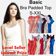 Padded Bra-Top comfortable modal material Camisoles T-shirt Tank-top Sleepwear Nursing Top