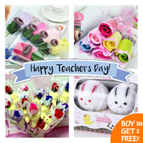 Buy 10 get 1 free!!  Teachers Day Rose / Valentine/ Singapore/ Rose / Gift / Valentines Day Rose