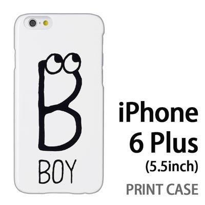 iPhone6 Plus (5.5インチ) 用『0623 「B」』特殊印刷ケース【 iphone6 plus iphone アイフォン アイフォン6 プラス au docomo softbank Apple ケース プリント カバー スマホケース スマホカバー 】の画像