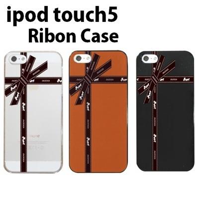 特殊印刷/iPodtouch5(第5世代)iPodtouch6(第6世代) 【アイポッドタッチ アイポッド ipod ハードケース カバー ケース】(リボン・Ribon)CCC-076の画像