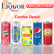 48 CANS COMBO DEAL/FREE DELIVERY] Cheap Soft Drink Deals [REVIVE/LIPTON/MIRANDA STRAWBERRY/PEPSI/MUG