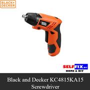 【Black and Decker】 KC4815KA15 Screwdriver 4.8v