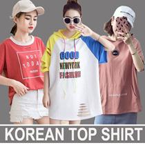 【2017.6.23】 Girls T-shirts Dress Cartoon Short Sleeve Casual Loose Blouse/Plus Size