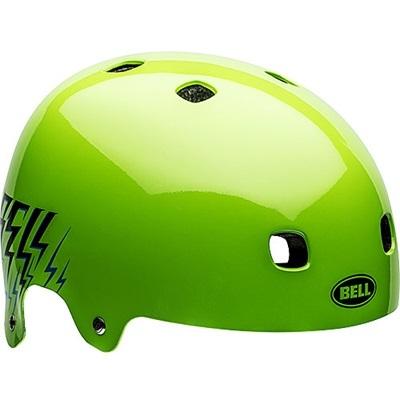 ベル(BELL) ヘルメット SEGMENT / セグメント Jr KIDS&YOUTH グリーンショックステディ? 【自転車 サイクル キッズ 安全 子供】の画像