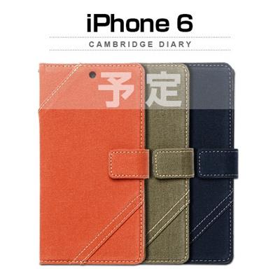 iPhone6カバーアイホン6 アイフォン6ケースiphoneケース アイフォン ブランド iphoneカバーiPhone6用 【iPhone6 4.7インチ 】 ZENUS Cambridge Diary (ケンブリッジダイアリー)【メール便送料無料】の画像