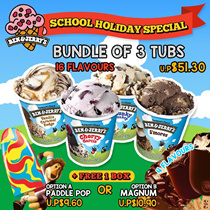 ◄BEN AND JERRY Core► Choose Any of your Favourite Flavours!