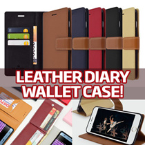 Leather Diary Wallet Case★NEW Galaxy S8/Plus/S7/Edge/S6/Note5/4/3/A5/A7/2017/J7 Prime/iPhone7/Plus/6